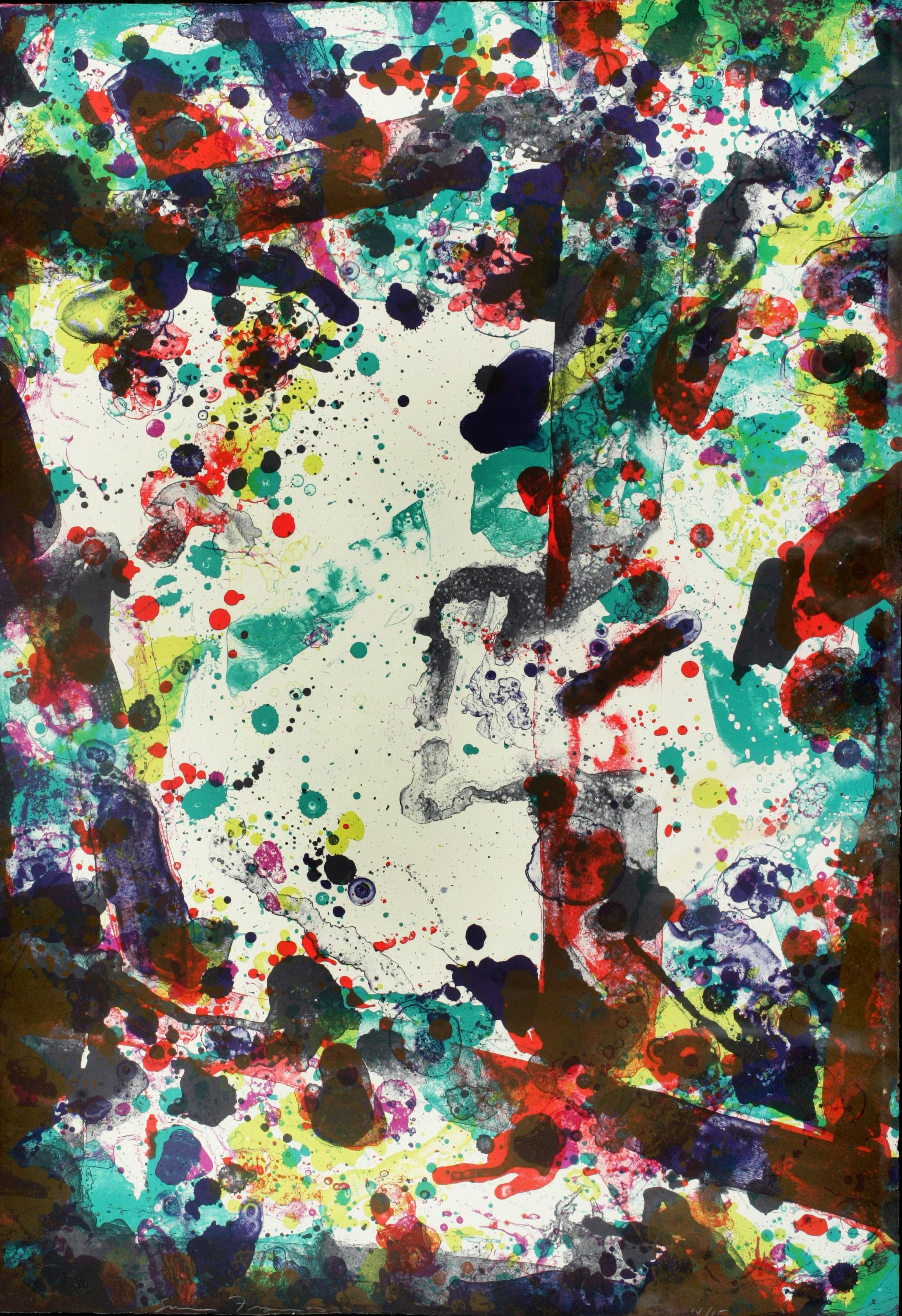 Vegetable ll, Abstract Lithograph