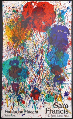 Vintage Poster Vintage Poster Fondation Maeght 19 Mars 1983