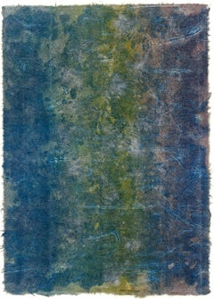 """""""NILE"""" Abstract Color Print by Sam Gilliam Influential Black Artist"""