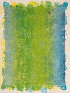 """WAVE"" Limited Edition Print by Sam Gilliam Influential Black Artist"