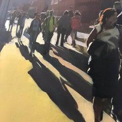 Sam Hewitt, 48/52, Original Oil Painting, Cityscape Art, Figurative Painting