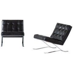 Sam Larsson Easy Chairs Produced by DUX in Sweden