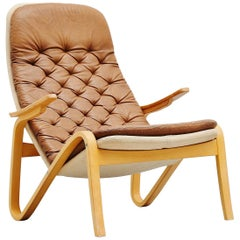 Sam Larsson Metro Lounge Chair DUX Sweden, 1970