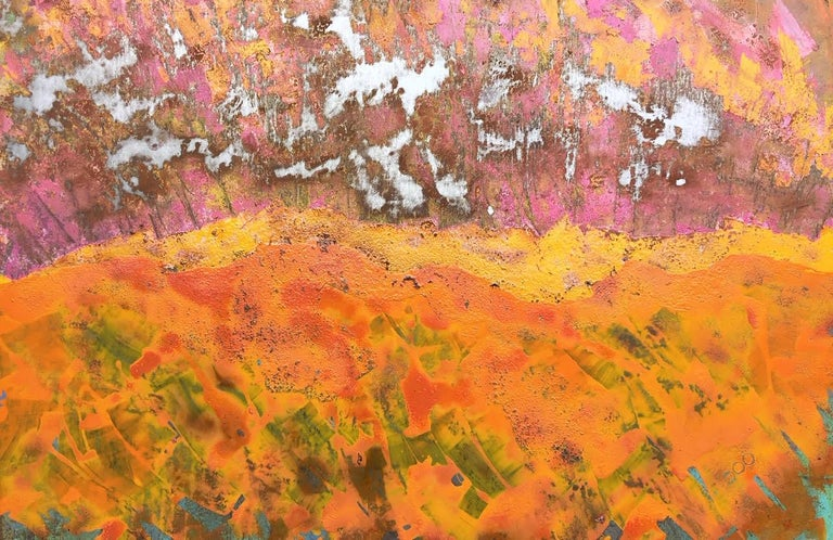 Sam Peacock Abstract Painting - Stellar