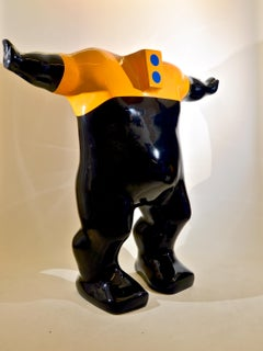 DEFENDER - a powerful and unique sculpture by British artist Sam Shendi