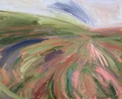 Sam Travers, Evening Light in the Horse Shoe, Original landscape art