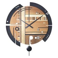 Samada Contrast Clock by Arosio Milano