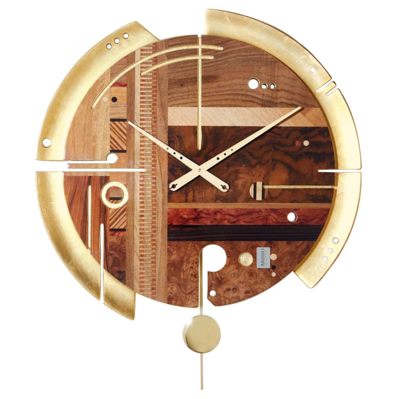 Samada Gold Special Edition Clock by Arosio Milano