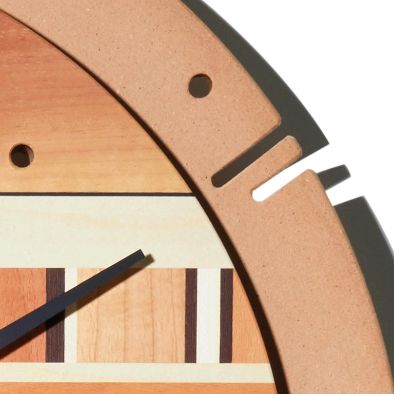 Samada Natural Clock by Arosio Milano In New Condition For Sale In Milan, IT