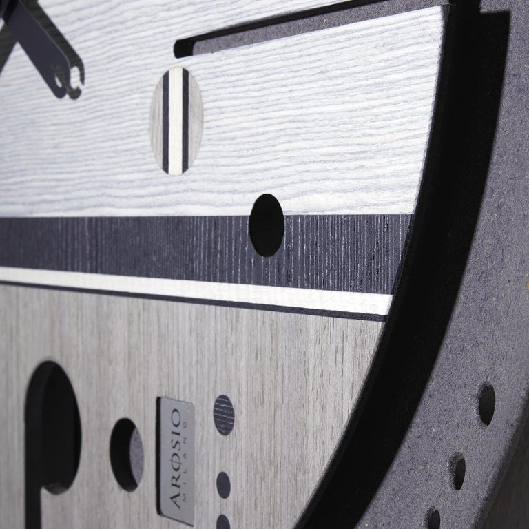 Samada Tech Clock by Arosio Milano In New Condition For Sale In Milan, IT