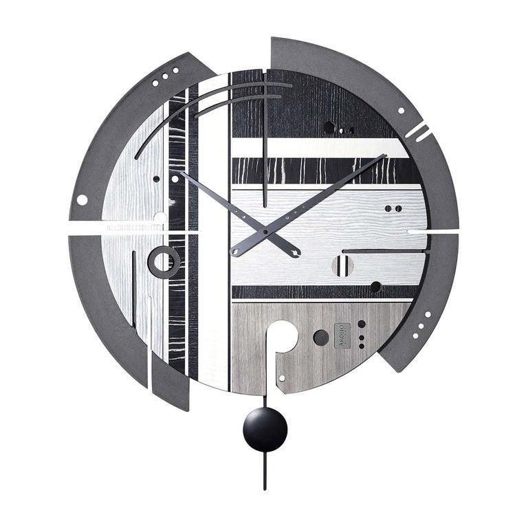 Samada Tech Clock by Arosio Milano For Sale