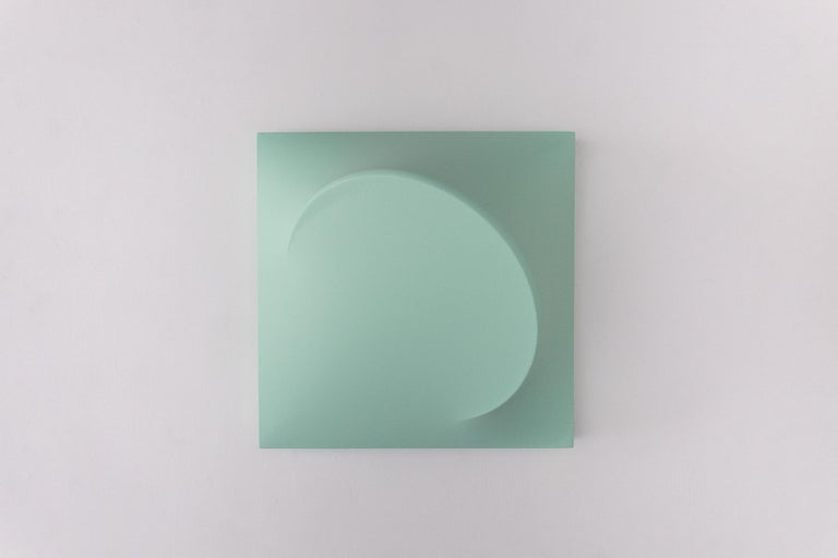 Samantha McCurdy Abstract Painting - Uranus (Long Game, The Titlted Truth)
