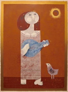 Guitarist with Bird
