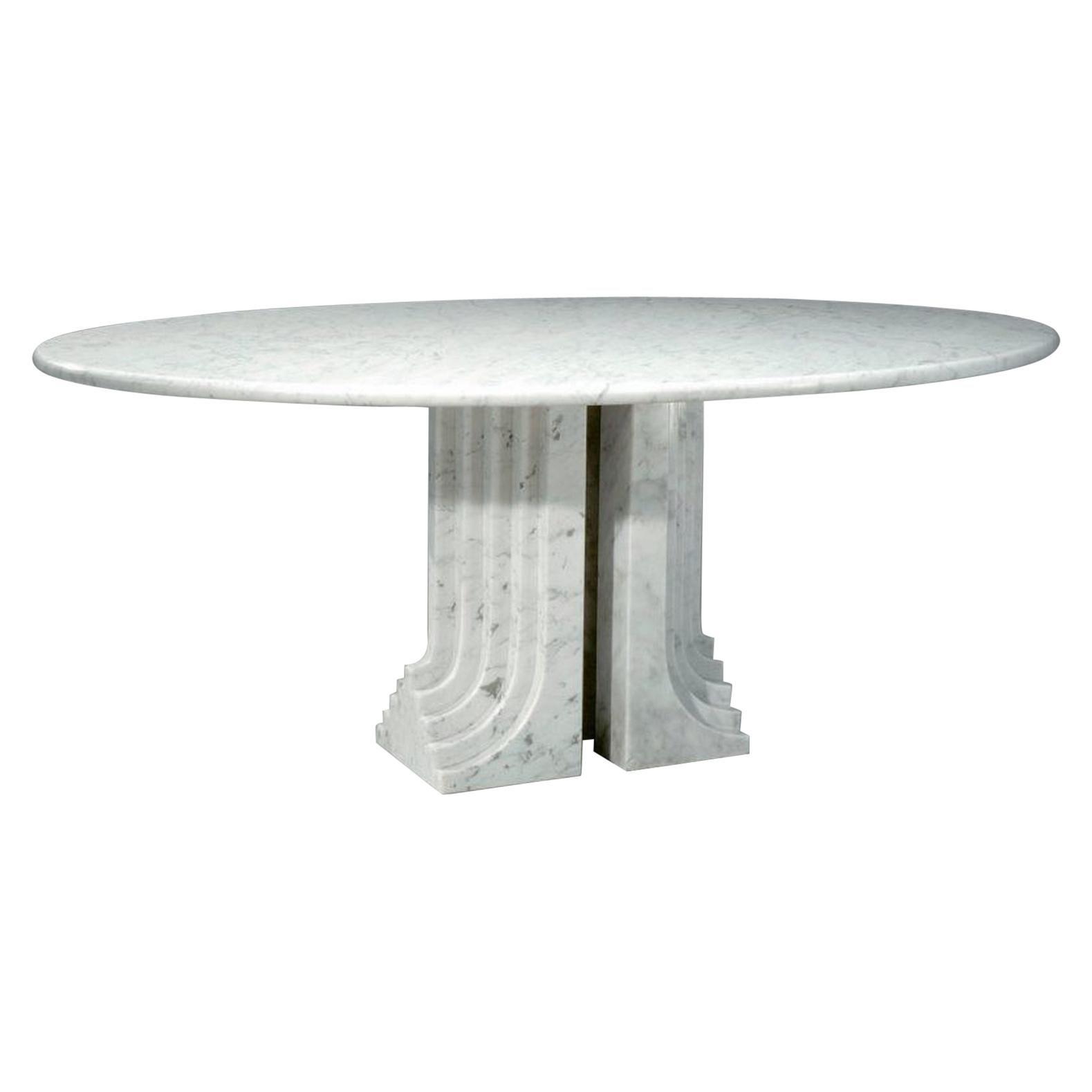 """Samo"" Dining Table by Carlo Scarpa, Italy, 1970"