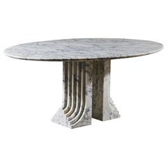 """Samo"" Marble Dining Table by Carlo Scarpa for Simon Gavina"