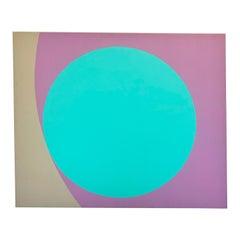 Samuel Butnik Large Modern Abstract Acrylic Painting, 1981
