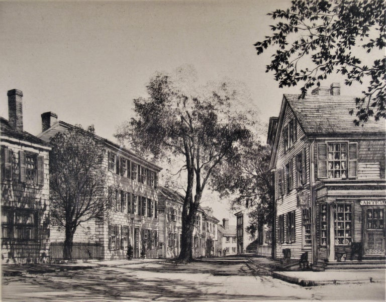 Street Scene - Print by Samuel Chamberlain