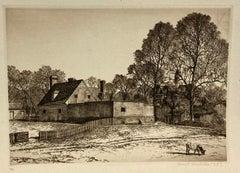 The Public Gaol, Williamsburg (Virginia)