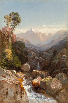In the White Mountains, Landscape by Samuel Colman (1832-1920, American)
