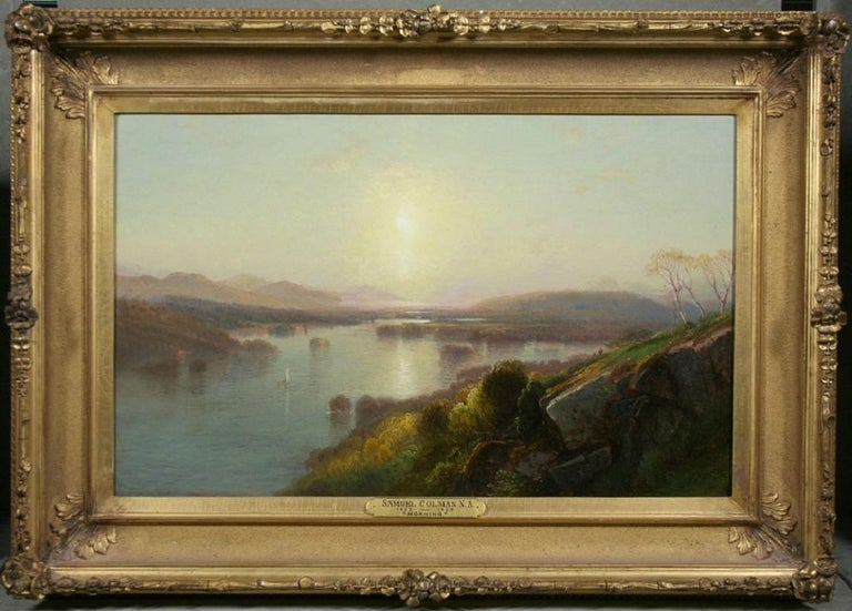Morning - Painting by Samuel Colman