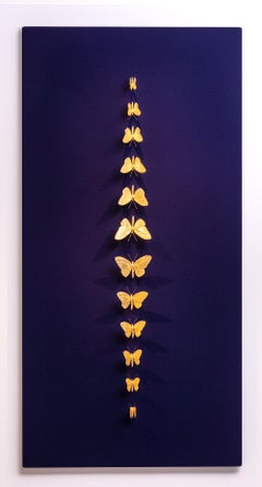 Metamorphosis Redux Royal - 21st Century, Contemporary Figurative, Butterflies