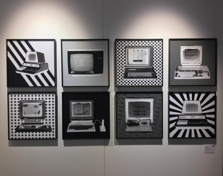 Alpha - Personal Computer Series - Black and White Graphic Photography For Sale 1