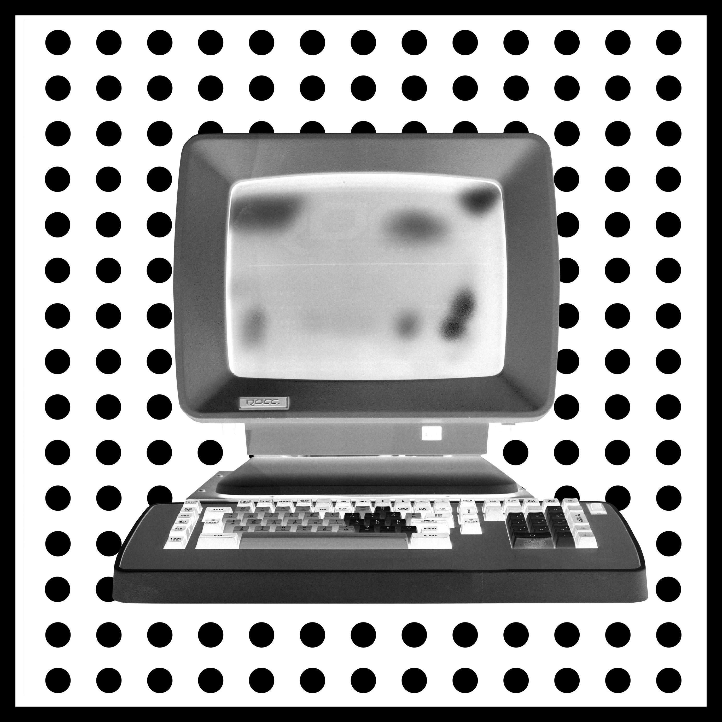 Alpha - Personal Computer Series - Black and White Graphic Photography
