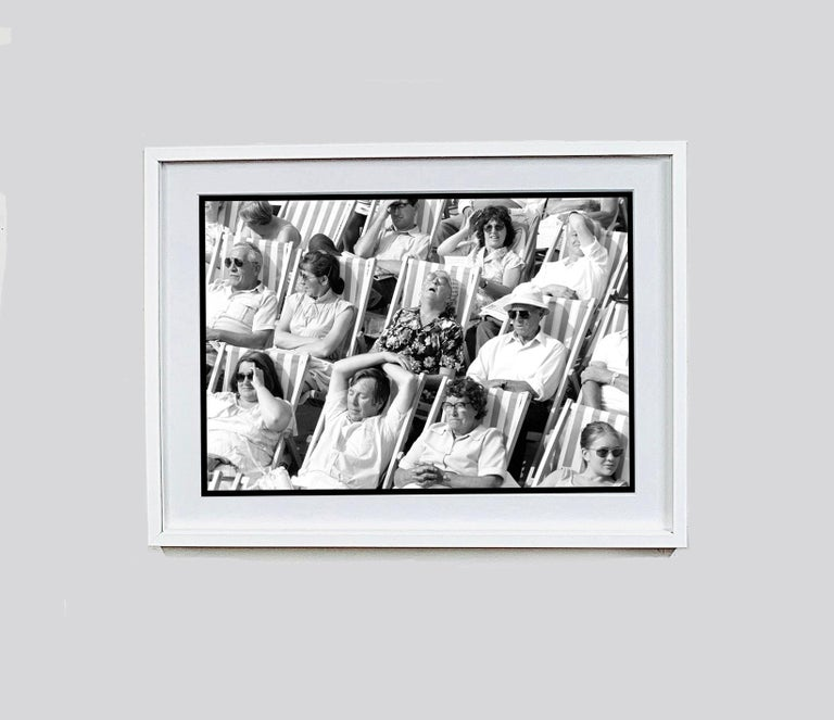 Bandstand, Eastbourne - Black & White Photography Triptych For Sale 9