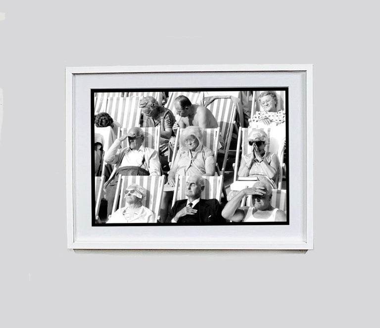 Bandstand, Eastbourne - Black & White Photography Triptych For Sale 11