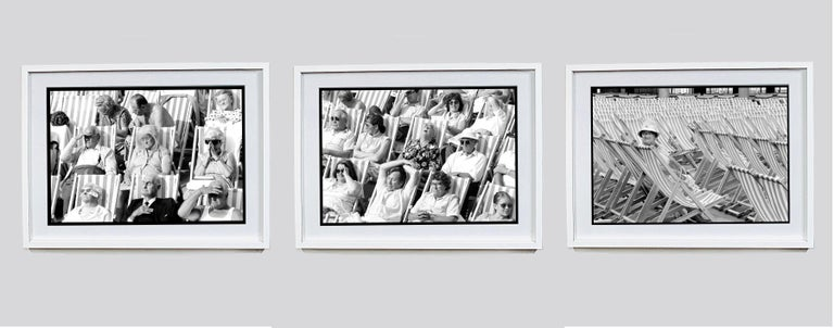 Bandstand, Eastbourne - Black & White Photography Triptych For Sale 12