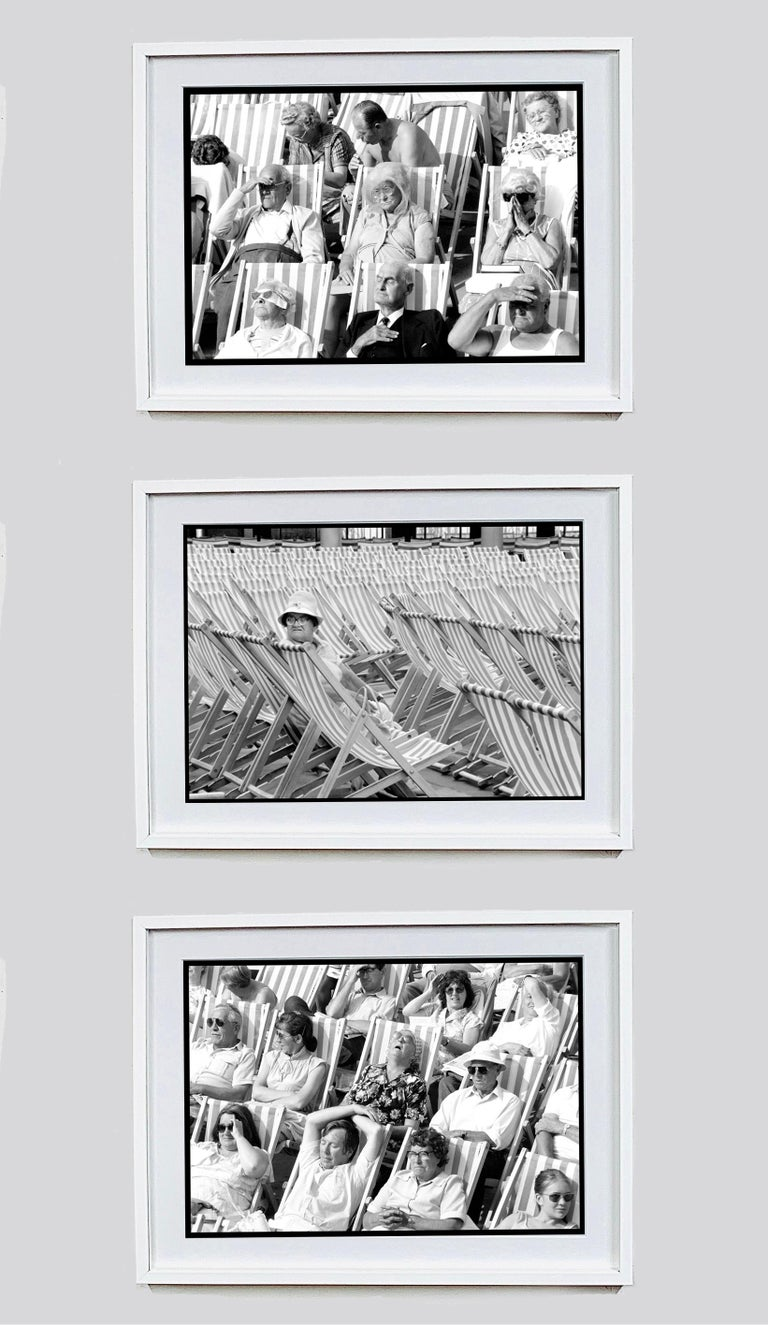 Bandstand, Eastbourne - Black & White Photography Triptych For Sale 13