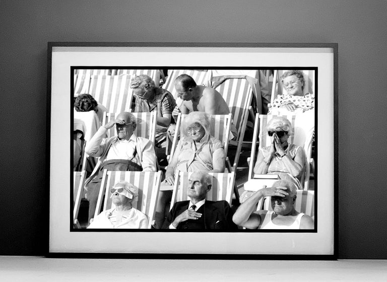 Bandstand, Eastbourne - Black & White Photography Triptych For Sale 4