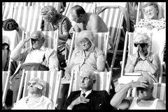 Bandstand II, Eastbourne, UK - Black and White Vintage Photography