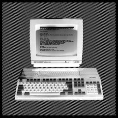 It is Pitch Black - Personal Computer Series - Black and White Photography
