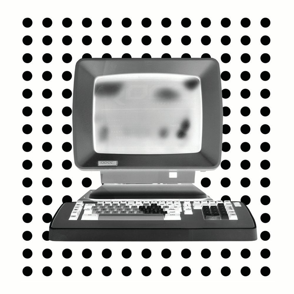 Personal Computer Series 'Alpha' - Black and white pop art photography