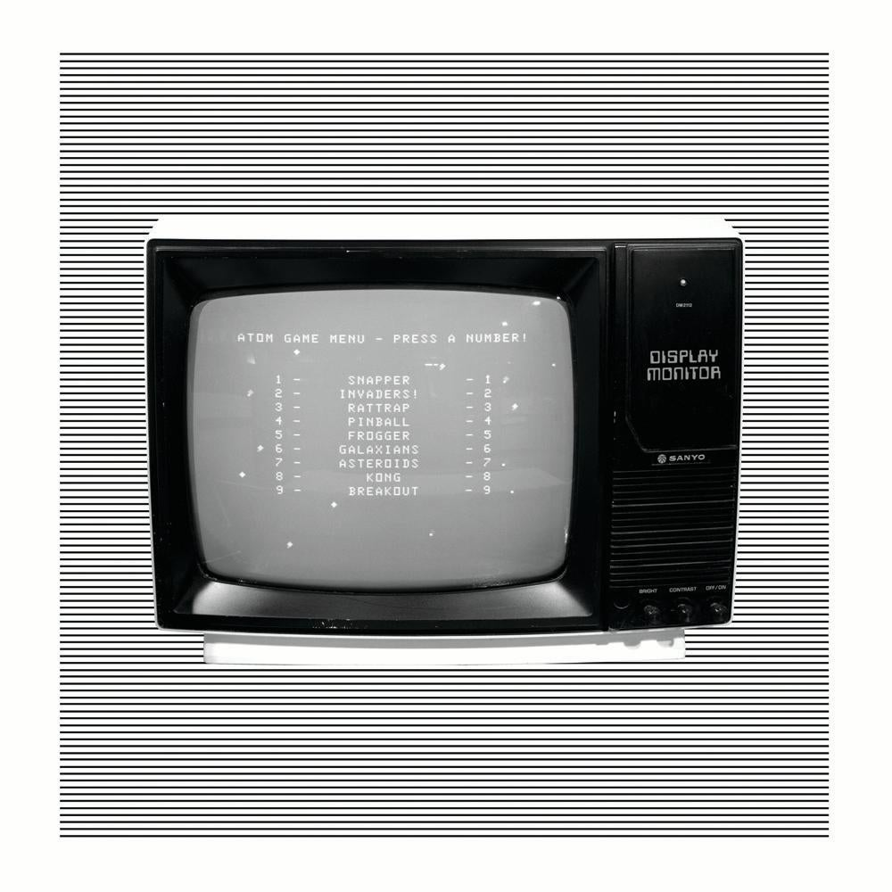Personal Computer Series 'Contrast' - Black and white pop art photography