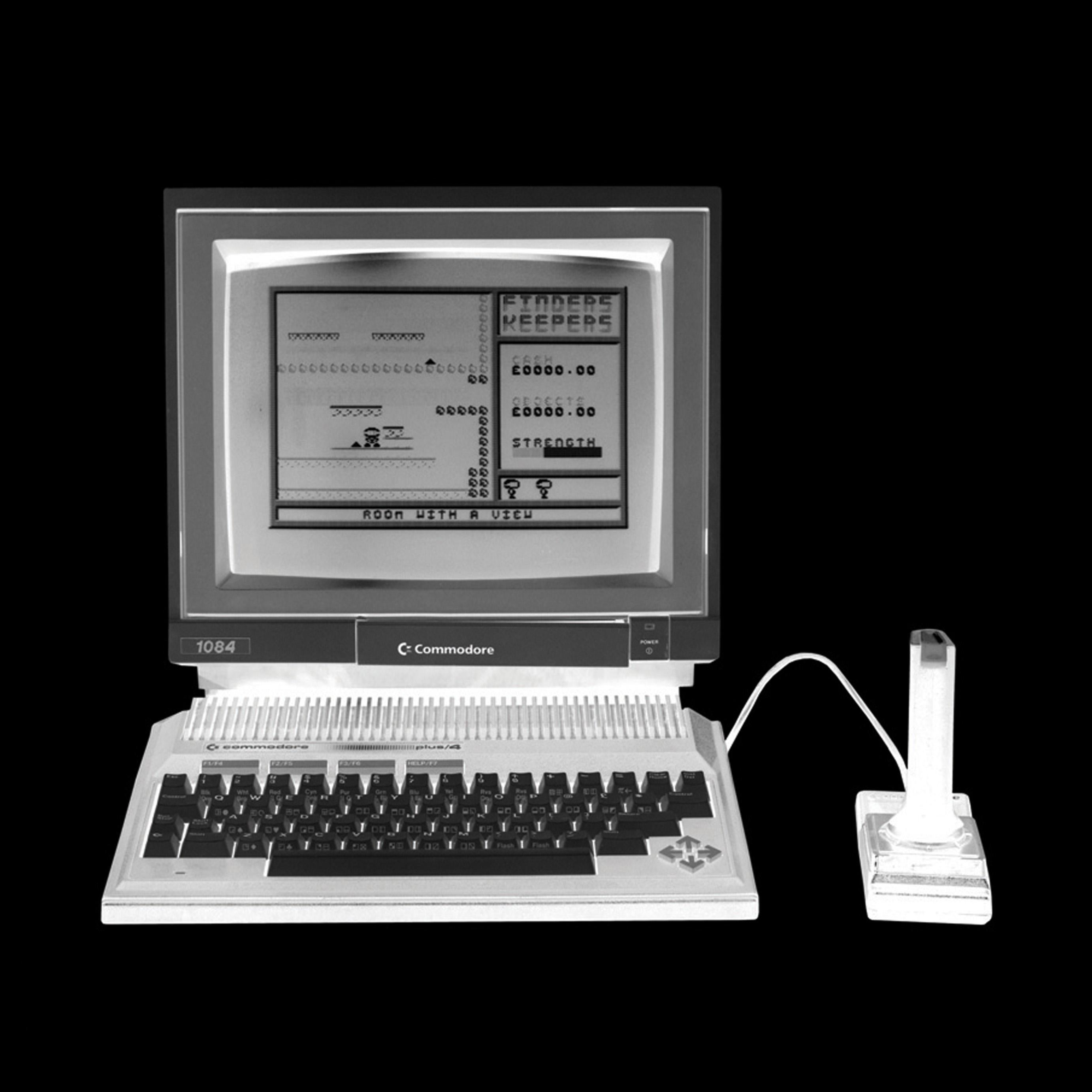 Power - Personal Computer Series - Black and White Graphic Photography