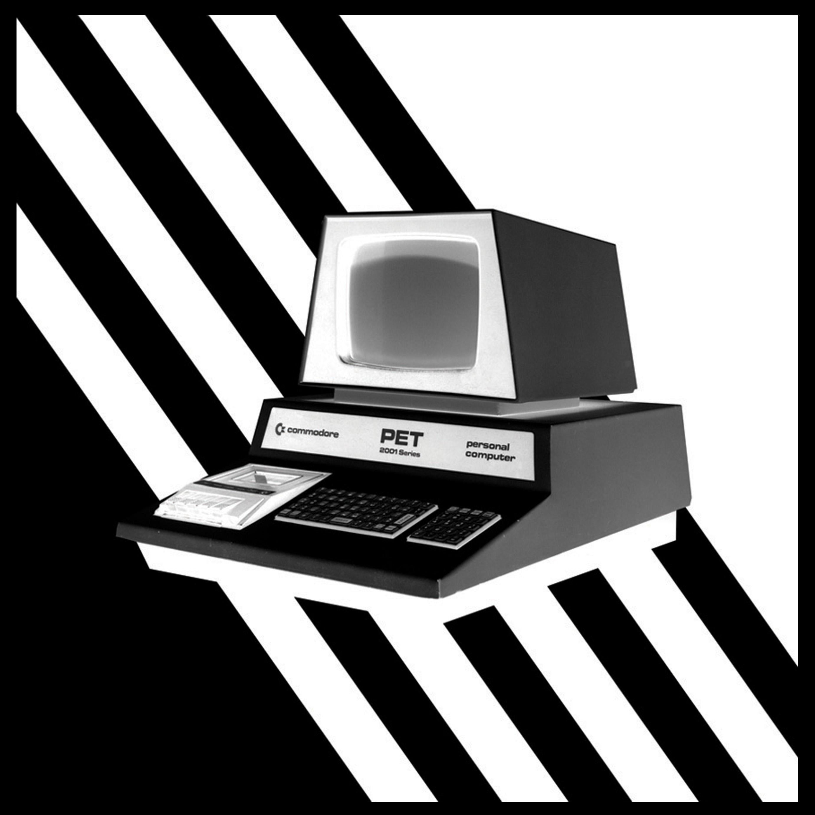 Return - Personal Computer Series - Black and White Graphic Photography