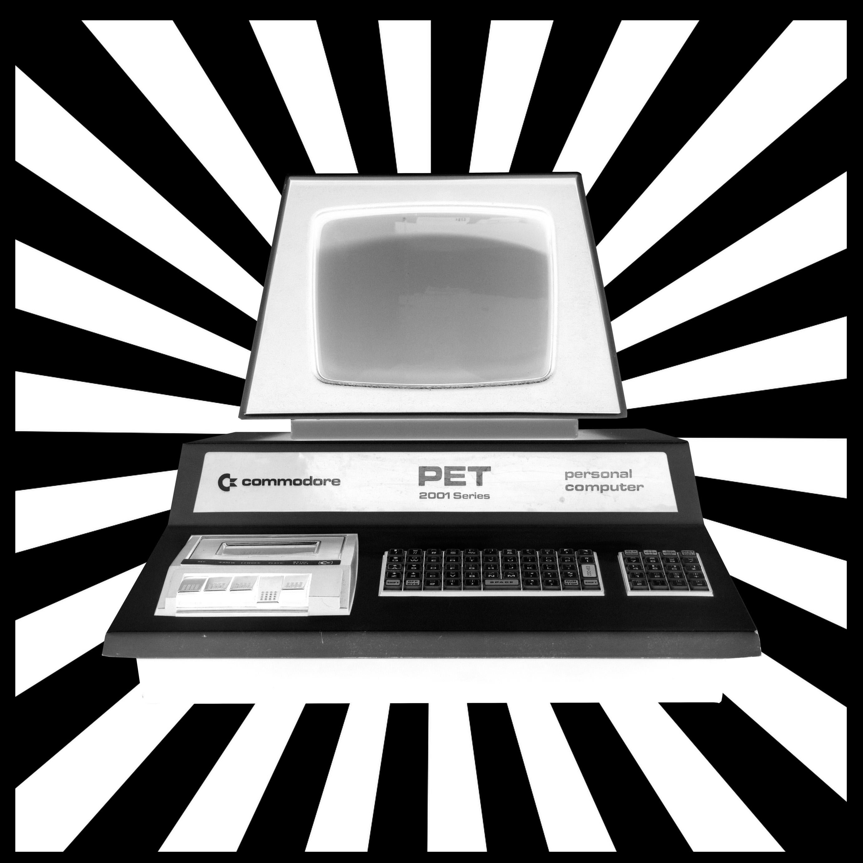 Space - Personal Computer Series - Black & White Graphic Photography