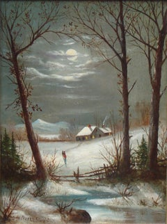 [Mount Washington Winter Scene]