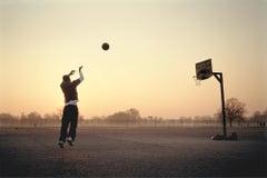 Basketball 1, Clapham - East London, Sports, Portrait, Sunrise, Morning, Photos