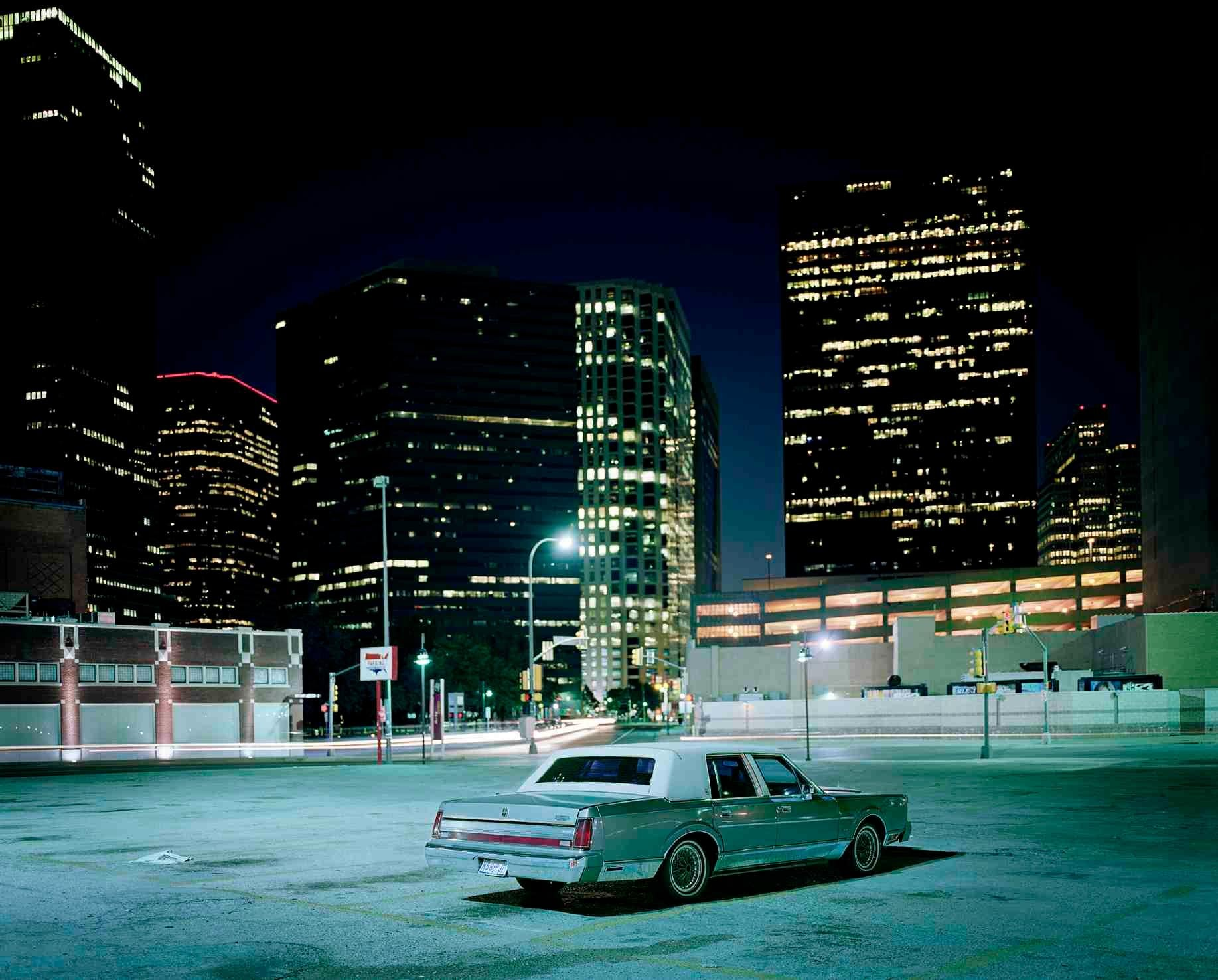 Car, Downtown Car Park, Dallas, Texas, 2006 - Samuel Hicks, Ford, USA, Photo