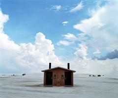 Hut, White Sands, New Mexico - Samuel Hicks, Travel Photography, Landscape