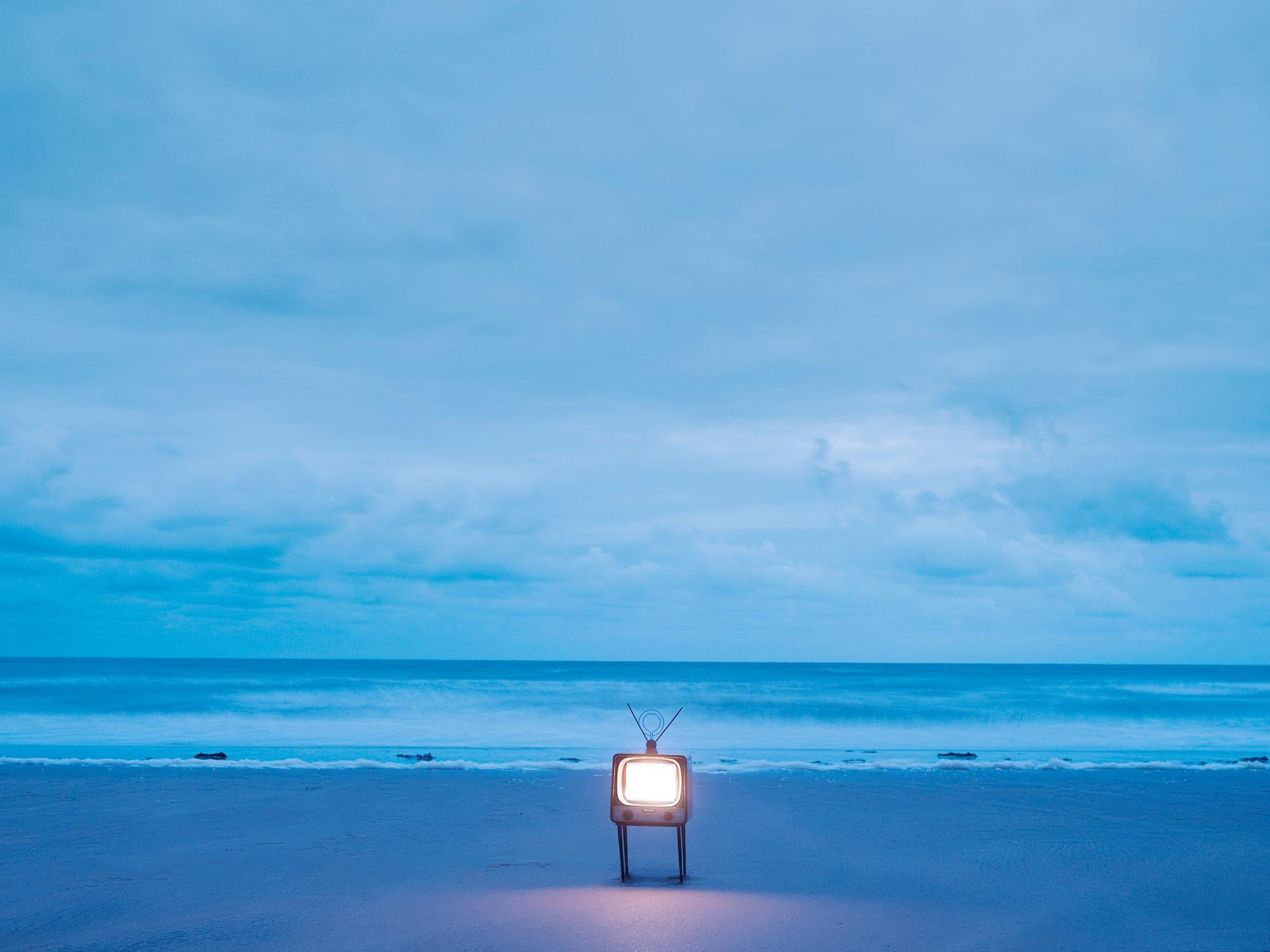 TV 2 - Samuel Hicks, Ocean, Sunset, Sea, Nature, Environment, Landscape