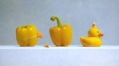Imposters #17 (Duck, Yellow Peppers, & Candy Corn)