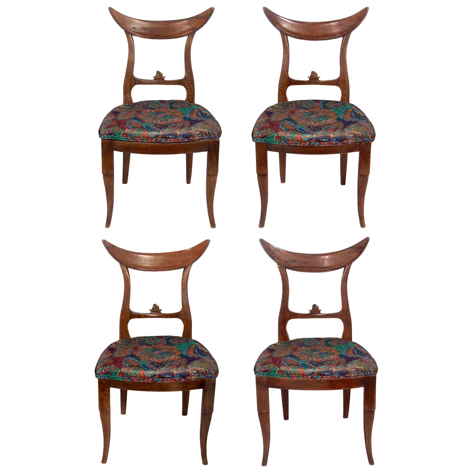 Samuel Marx Dining Chairs, Set of Four