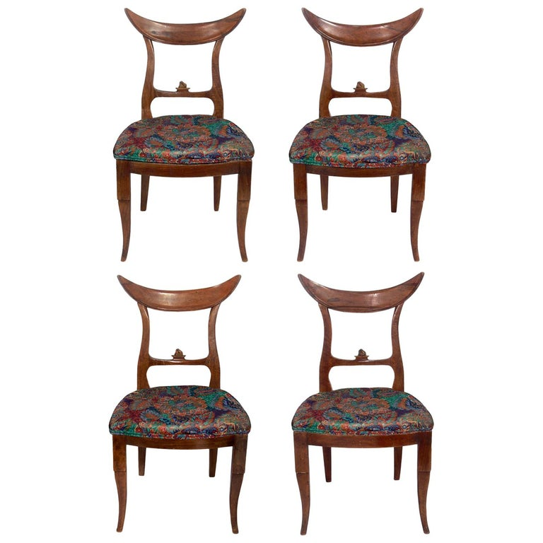 Samuel Marx Dining Chairs, Set of Four For Sale