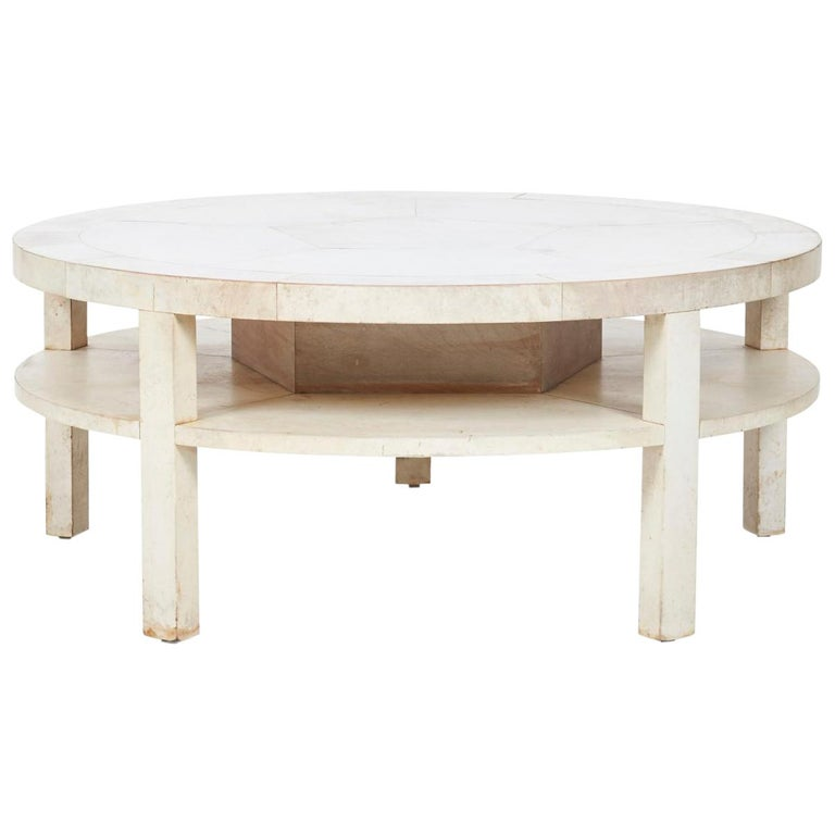Samuel Marx Two-Tier Cocktail Table For Sale