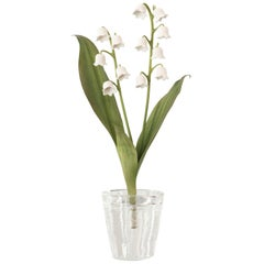 Samuel Mazy White Porcelain Lily of the Valley Sculpture