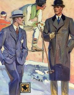 Hart Schaffner Marx Clothing Advertisement